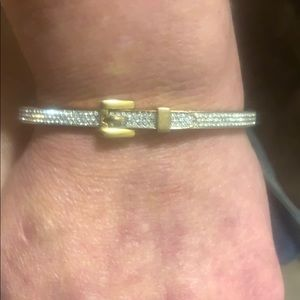 MK signature belt bracelet